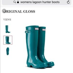 Women's Tall Hunter Boots - Lagoon